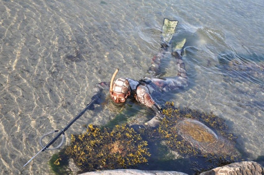 Undervandsjagt oplevelsesgave til far og søn