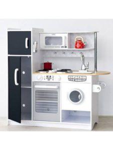Kidkraft pepperpot-legekøkken med vaskemaskine