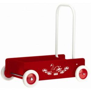 Rød gåvogn fra Krea