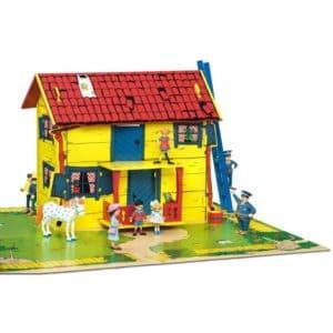 Pippi Langstrømpe-dukkehus
