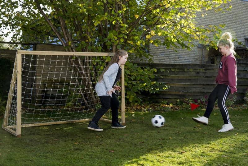 klassisk fodboldmål til haven - 140x175 cm