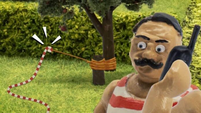 John Dillermand i haven